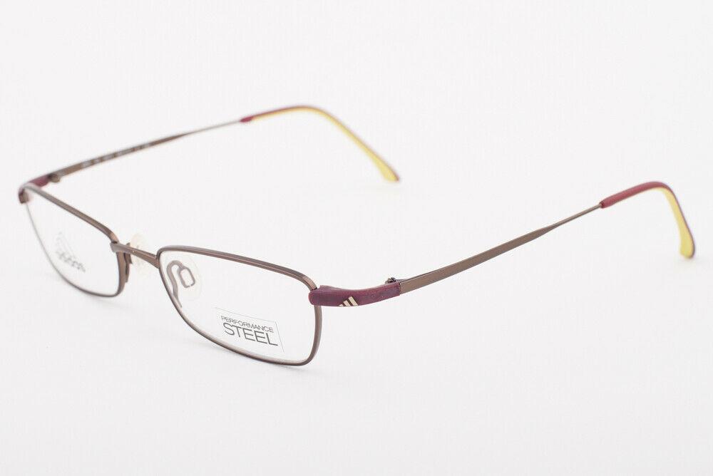 Adidas A955 40 6071 Ambition Burgundy Eyeglasses 955 406071 48mm