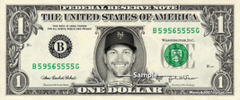 JACOB DEGROM on a REAL Dollar Bill Cash Money Collectible Memorabilia Celebrity - $8.88