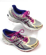Asics Gel Equation T3F6N Running Shoes White Pink Purple Women's 8.5 US - $21.73