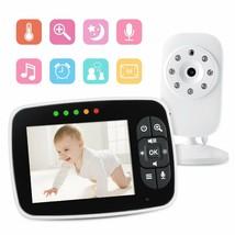 "3.5"" Baby Monitor Wireless Home Security Nanny Camera 2-Way Audio Night ... - $59.35"