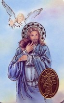 Safely Home Wallet Prayer Card - EB712 -  I am home in heaven dear ones ... - $2.79