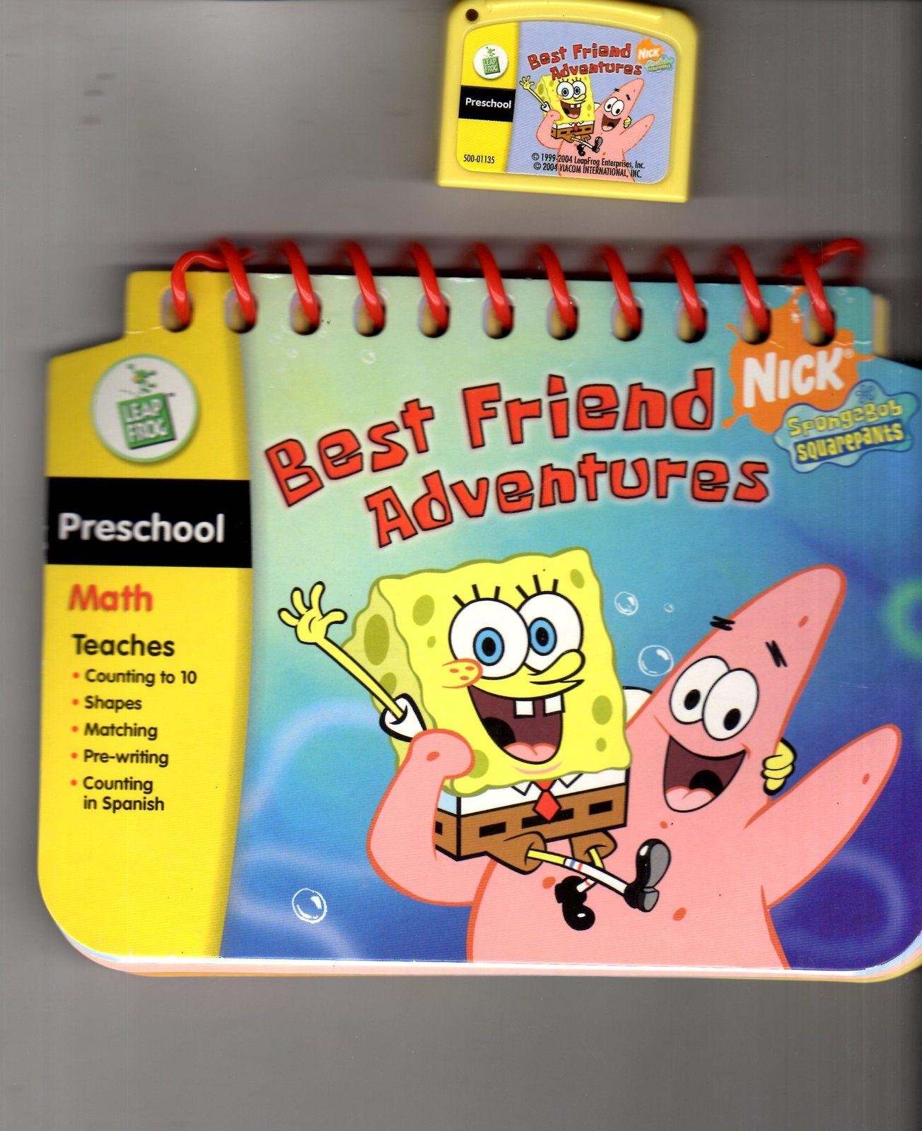 Leap Frog - My First LeapPad - Spongebob Squarepants Best Friend Adventure