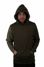 DOPE Men's Knockout Paneled Pullover Olive NWT image 1