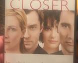 Closer (DVD, 2005, Superbit) Julia Roberts, Clive Owen