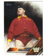 2016 Topps WWE Then, Now, Forever #186 Nikolai Volkoff NM-MT - $0.99