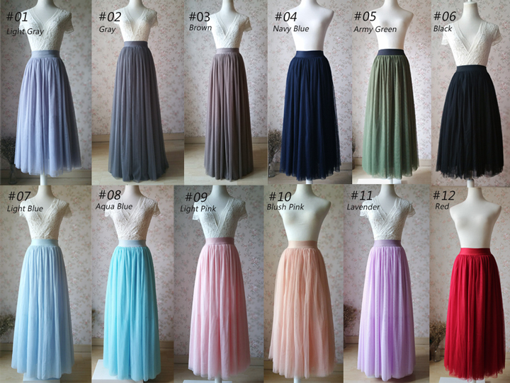 Tulle color ldh