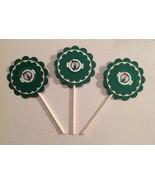 Nba Boston Celtics Cupcake Topper Party Deco Baseball Birthday Green Han... - $15.00