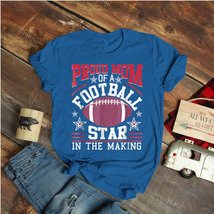 Football Proud Mom Of A Football Star In The Making Ideas Birthday Gift ... - $15.99+