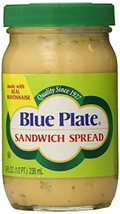Blue Plate Sandwich Spread, 8 Ounce Jar Pack of 12