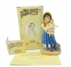 Jan Hagara figurine vtg limited edition 1985 Lisa Jumeau Doll NIB purse ... - $29.65