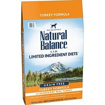 Natural Balance L.I.D. Limited Ingredient Diets High Protein Dry Dog Food, Turke - $103.22