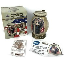 Miller Beer 2002 Holiday Collector Stein Saturday Evening Post Collectio... - $17.09