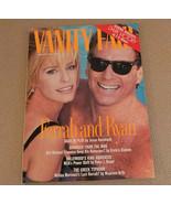 Vanity Fair Magazine Farrah Fawcett; Ryan O'Neal; Andie McDowell Feb 199... - $22.99