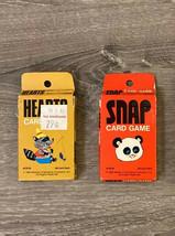 Vtg Whitmans Card Games Hearts Snap  1963-1969 - $29.99
