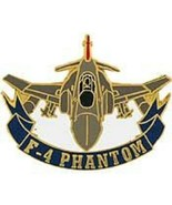 USAF F-4 PHANTON II Pin - $7.91