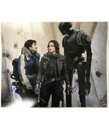"Felicity Jones & Diego Luna Signed Autographed ""Star Wars"" Glossy 16x20 ... - $149.99"