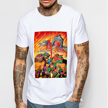 TMNT - Heroes In Halfshell Isolated Casual White T-shirt Tee for mens - £7.19 GBP+