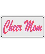 cheer mom metal license plate made in usa - $27.07