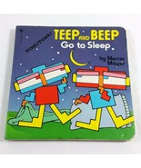 Teep And Beep Go To Sleep By Mercer Mayer 1984 Tink Tonk Board Book Japa... - $199.99