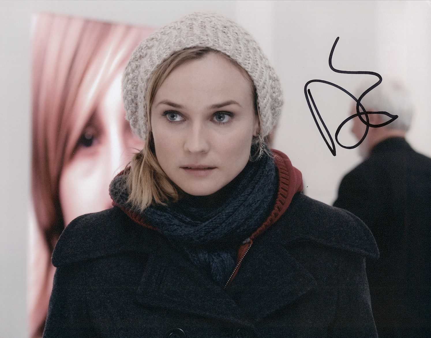 "Primary image for Diane Kruger Signed Autographed ""Unknown"" Glossy 8x10 Photo"