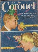 Coronet Magazine May 1956 [Single Issue Magazine] [Jan 01, 1956] Lewis W.Gillens