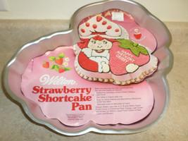 Vintage Wilton 1981 Cake Mold Strawberry Short Cake  - $10.00