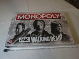 The Walking DEAD Monopoly AMC board game RARE version sealed NEW TV seri... - $63.77