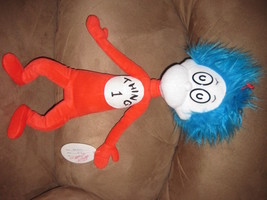 "DR. SEUSS THING 1 VERY RARE PROMO 2003 Brand New Licensed Plush 19"" HTF ... - $79.99"