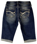 New SILVER Jeans Sale Mid Rise Eden Denim Stretch Jean Shorts 24 - $19.97