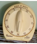 Robertshaw Lux Minute Minder Kitchen Timer. Vintage Space Age.  USA. G-237 - $22.00