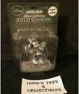 Disney Roen Collection Black & Silver Ultra Detail Solo Version Minnie M... - $37.99