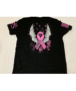EF Cancer Grunt style Life T-shirt New XL Adult Pink Military - $15.19