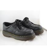 Vintage Dr Martens Shoes - 2 Hole Black Leather Loafers -  US Men's Size 7 - $110.00