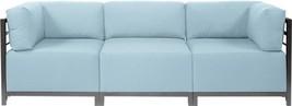 HOWARD ELLIOTT AXIS SEASCAPE Sectional Sofa Breeze Blue - $4,549.00