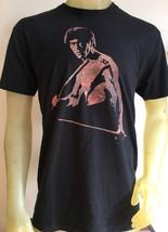 Bruce Lee Black psychedelic Rare Tshirt L BNA 78 - $26.99