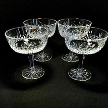 4 (Four) LENOX BEACON HILL Crystal Champagne /  Sherbet Glasses - Signed - $37.99