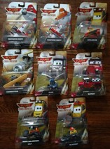 8 Disney Fire and Rescue Diecast Vehicles NIP Matell - $89.10