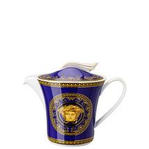 Versace by Rosenthal Ikarus Medusa blue Teapot 3, 1.3 l/ 43.9 oz - $577.15