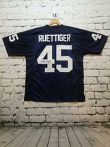 Rudy Ruettiger Autographed College Style Football Jersey Blue JSA COA - $69.92