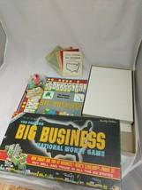 Big Business Money Game 1959 Edition Transogram Complete Original Box - $19.79
