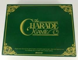 The Charade Board Game 1985 Pressman  - $10.39