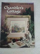 Thomas Kinkade Chandler's Cottage Leisure Arts Leaflet 2106 Cross Stitch Pattern - $7.91