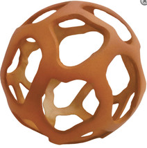 "Decorative sphere Tulum Terracotta Orange Open Metal Orb, 6"" - $59.39"