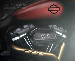 2018 Harley Davidson Brochure, Street Sportster Dyna Softail V-Rod Electra Glide - $7.55