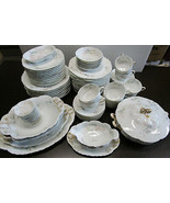 Haviland & Co Limoges Schleiger 70a Place Setting for 6 & Extras Total 7... - $614.68
