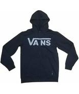Vans Drop V Full Zip Men's Black Pullover Hoodie Size S L SMALL LARGE - $79.95