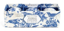 Bath Bombs Set of Three Indigo Cotton by Michel Design Works 3 Soap Clea... - $9.49