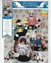 "Fibre Craft Crochet Pattern Booklet-Nursery Favorites-Outfits Fit 5 3/4""... - $5.86"