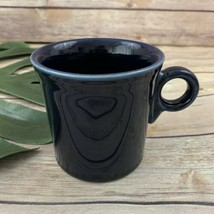 Fiesta Wear HLC Cobalt Dark Blue Coffee Mug O Ring Handle Tom Jerry Cup  - $17.81