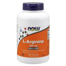 Now Foods L-Arginine 500 mg 250 Capsules . MADE IN USA - $29.99